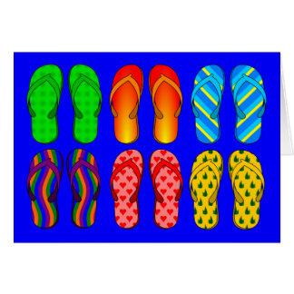 Flip Flops Galore Card