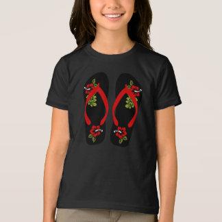 Flip Flops Girls T-Shirt