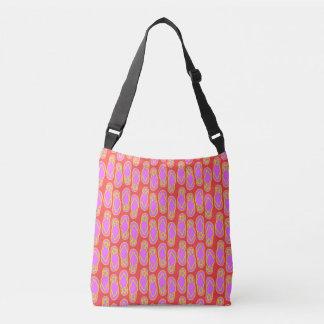 Flip Flops Hawaiian Style Tote Bag