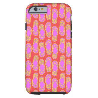 Flip Flops Hawaiian Style Tough iPhone 6 Case