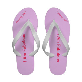 Flip Flops I Am Fabulous