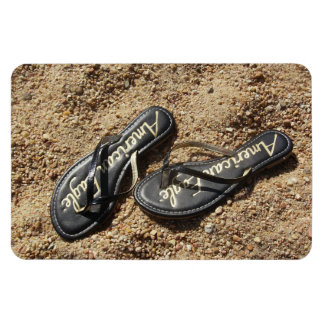 Flip Flops in the Sand Magnet