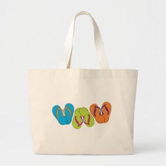 Flip Flops Jumbo Tote Bag