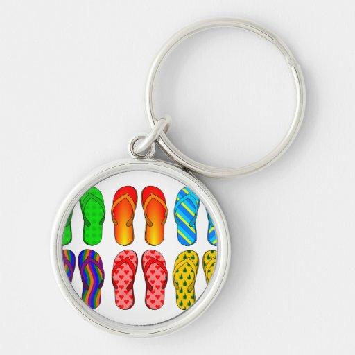 Flip Flops Keychains