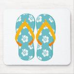 Flip-Flops Mouse Pad