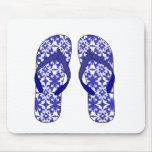Flip Flops Mouse Pads