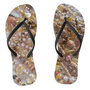 7ef5d601c5caf Flip Flops- Natural Earth tones