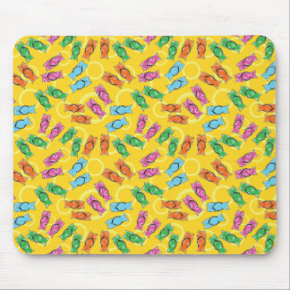 Flip flops on a beach mouse pad