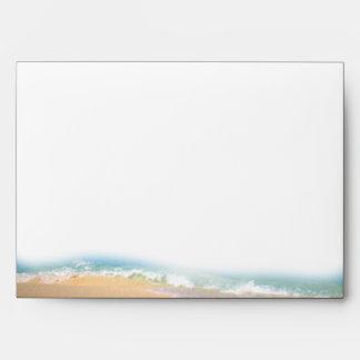 Flip Flops on the Beach Wedding Envelope