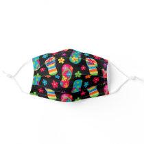 Flip Flops Pattern Adult Cloth Face Mask