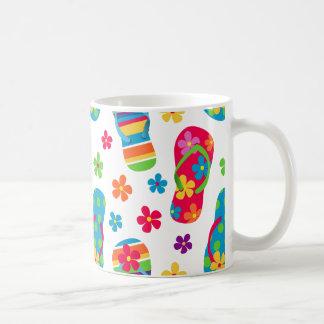 Flip Flops Pattern Coffee Mug