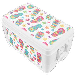 Flip Flops Pattern Cooler