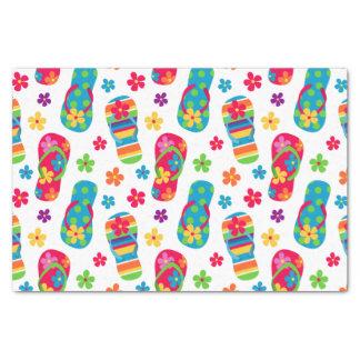 """Flip Flops Pattern 10"""" X 15"""" Tissue Paper"""