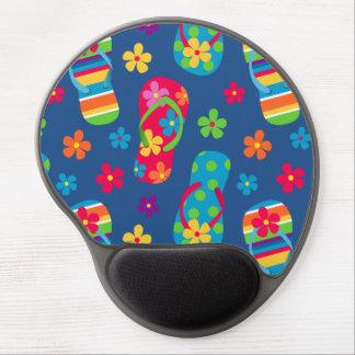 Flip Flops Pattern Gel Mouse Pad