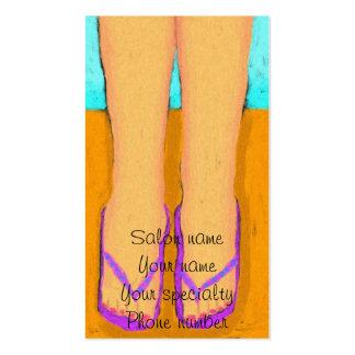 Flip Flops Pedicurist Business Card
