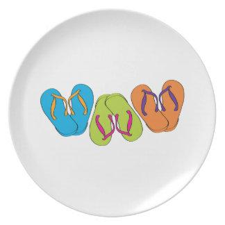 Flip Flops Plate
