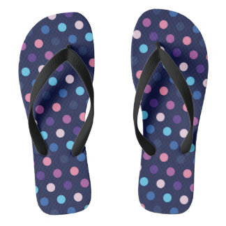 Flip Flops Polka Dots