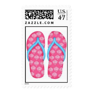 Flip Flops Postage Stamps