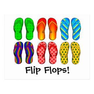 Flip Flops Postcard