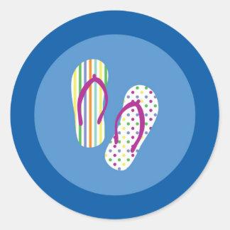 Flip Flops Seal Sticker