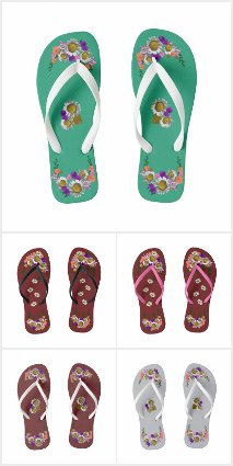 Flip Flops Shower Shoes ONLY