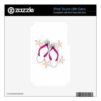Flip Flops iPod Touch 4G Skin