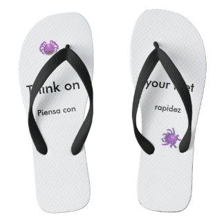 Flip Flops - Spiders