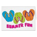 Flip Flops Summer Fun Cards