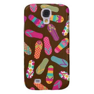 Flip Flops Summer Pern {brown} Samsung S4 Case