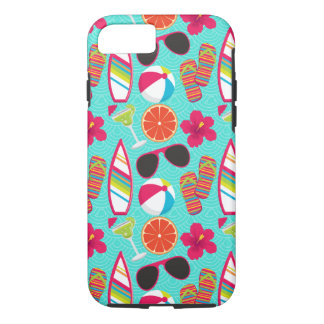 Flip Flops Sunglasses Beach Ball iPhone 7 Case