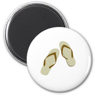 Flip Flops / Thongs 2 Inch Round Magnet