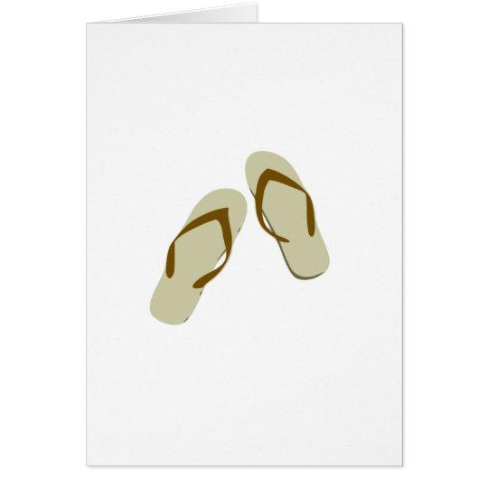 Flip Flops / Thongs Card
