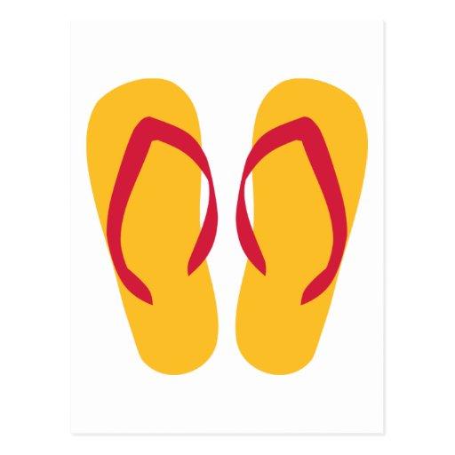 Flip Flops - Thongs Postcard