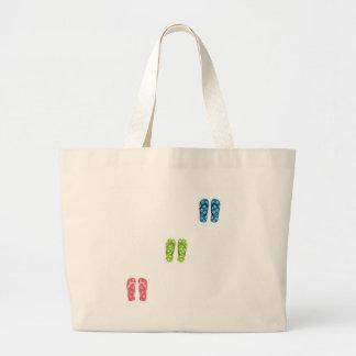 Flip Flops Tote Bags