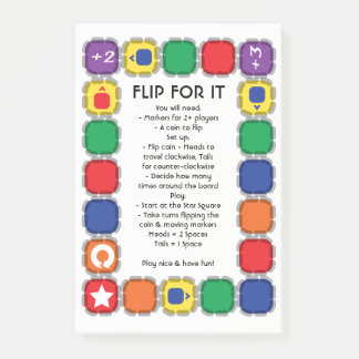 Flip For It Desk Game Post-it Notes
