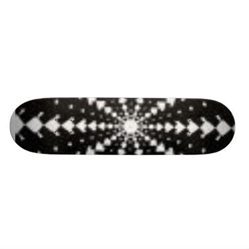 Flip guide skateboard deck
