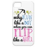 Flip Like a Girl Empowerment Gymnastics iPhone 5 Cover