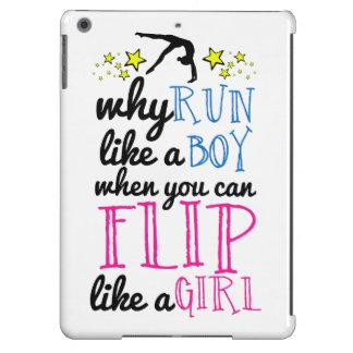 Flip Like a Girl Empowerment Gymnastics Cover For iPad Air