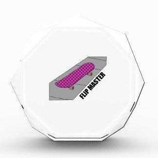 Flip Master Acrylic Award