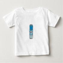 Flip Phone Retro Style Baby T-Shirt