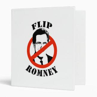 FLIP ROMNEY VINYL BINDERS