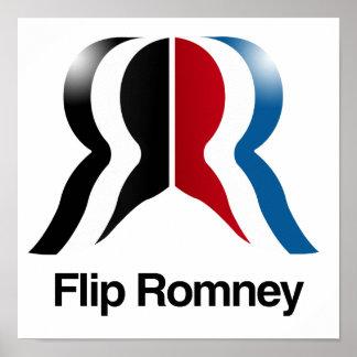 Flip Romney -.png Posters