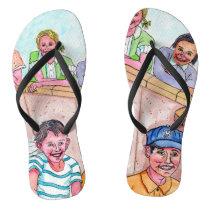 Flip Them Off Or Flop Them On - Freedom Flip Flops