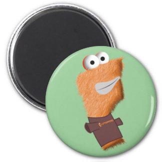 Flip w/T-Shirt Magnet! 2 Inch Round Magnet