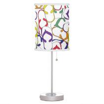 Flipflop pattern lamp summer beach