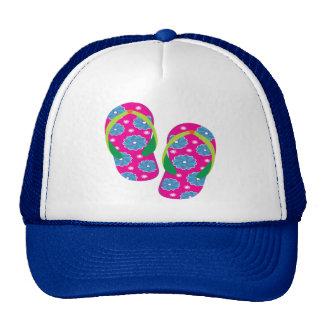 Flipflops-pinkblue Mesh Hat