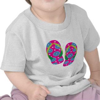 Flipflops-pinkblue T Shirt