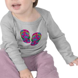 Flipflops-pinkblue Shirt