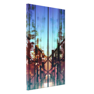 Flipped Lights Contemporary Fine Art Photography Canvas Prints