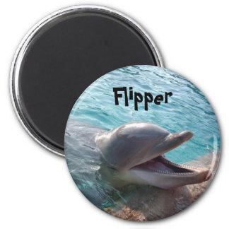Flipper 2 Inch Round Magnet